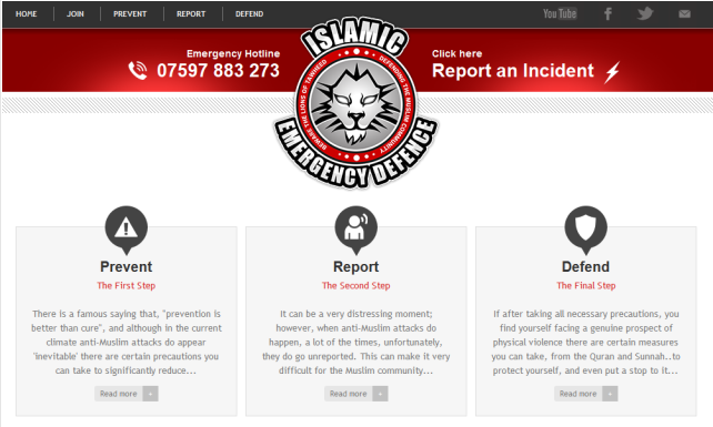 islamic emergency defense website 11.8.2013