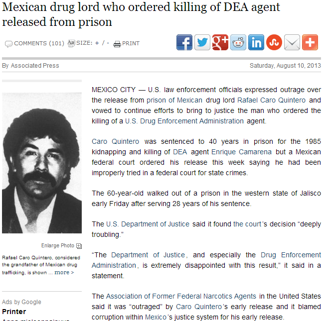 mexico releases killer drug lord 11.8.2013