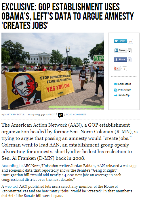 rinos using dem talking points manesty creates jobs 21.8.2013
