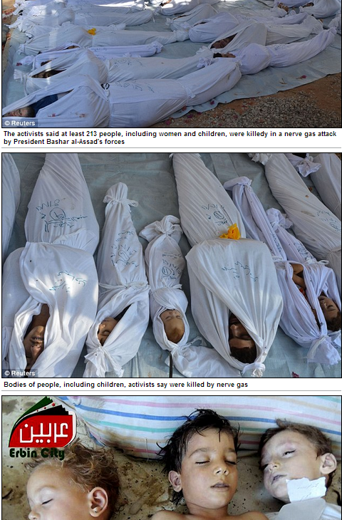 syrian chemical attack 23.8.2013
