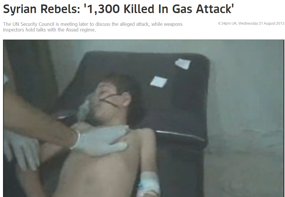 syrian gas attack 1300 dead 21.8.2013