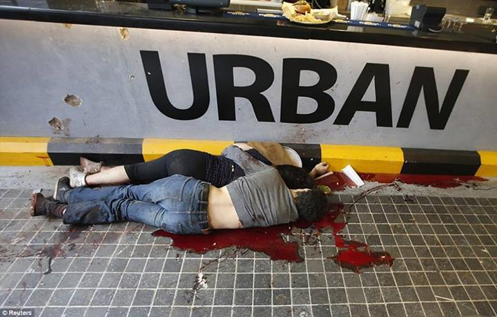 COUPLE MURDERED BY MUSLIM FUNDAMENTALISTS IN NAIROBI SHOPPING MALL 22.9.2013