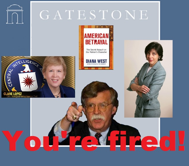 Gatestone fires clare Lopez over american betrayal 6.9.2013