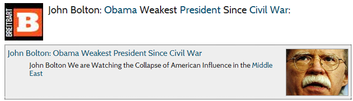 bolton obama weakest pres since civil war 1.9.2013