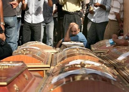 coffins-of-murdered-Coptic-Christians