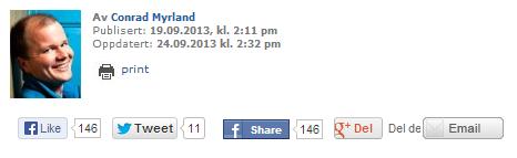 conrad Myrland BLOG