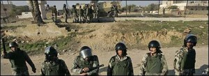 egypt secures gaza border