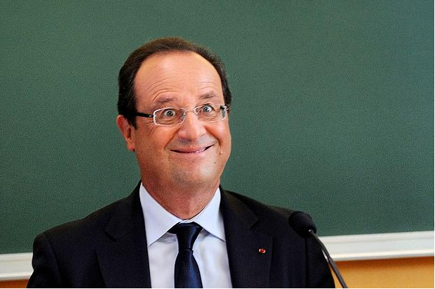 hollande village idiot