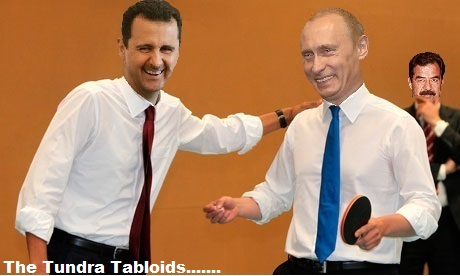 ping pong assad and putin
