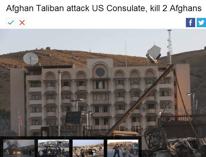taliban attacks us consulate 2 afghans dead 13.9.2013