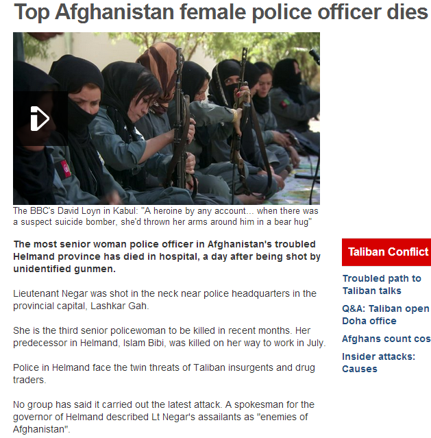 top afghan police officer dies 17.9.2013
