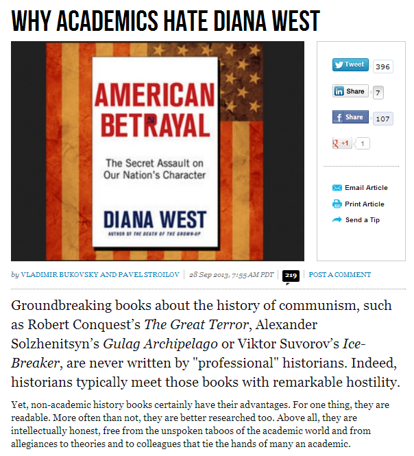 why academics hate diana west 29.9.2013