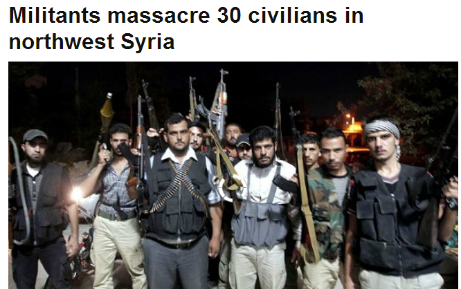 30 dead in syria 31.10.2013