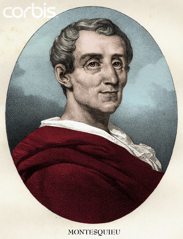 Portrait of Charles-Louis de Secondat, Baron de la Brede et de Montesquieu