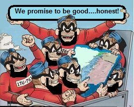 They promise to be good-honest