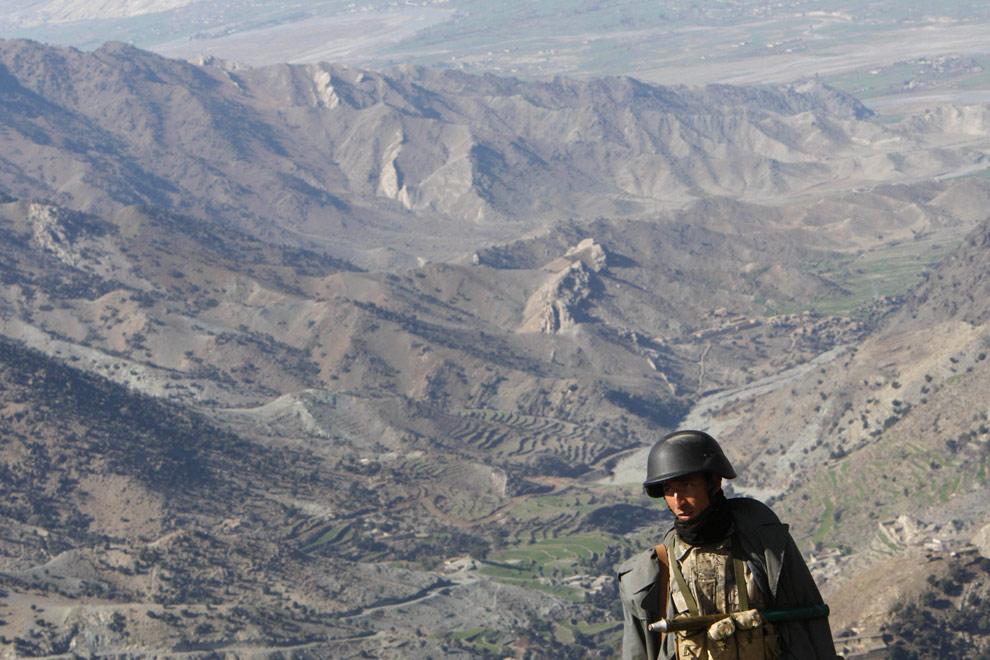 afghan-pak border