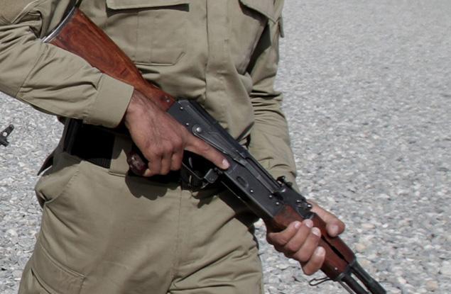 afghani soldier