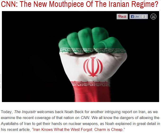 cnn new mouthpiece for Iran10.10.2013.