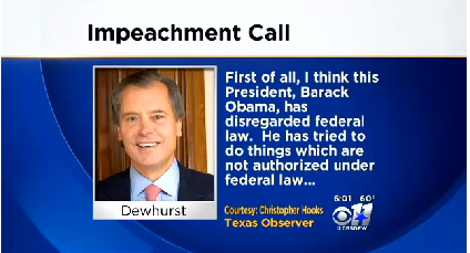 dewhearst obama should be impeached 16.11.2013