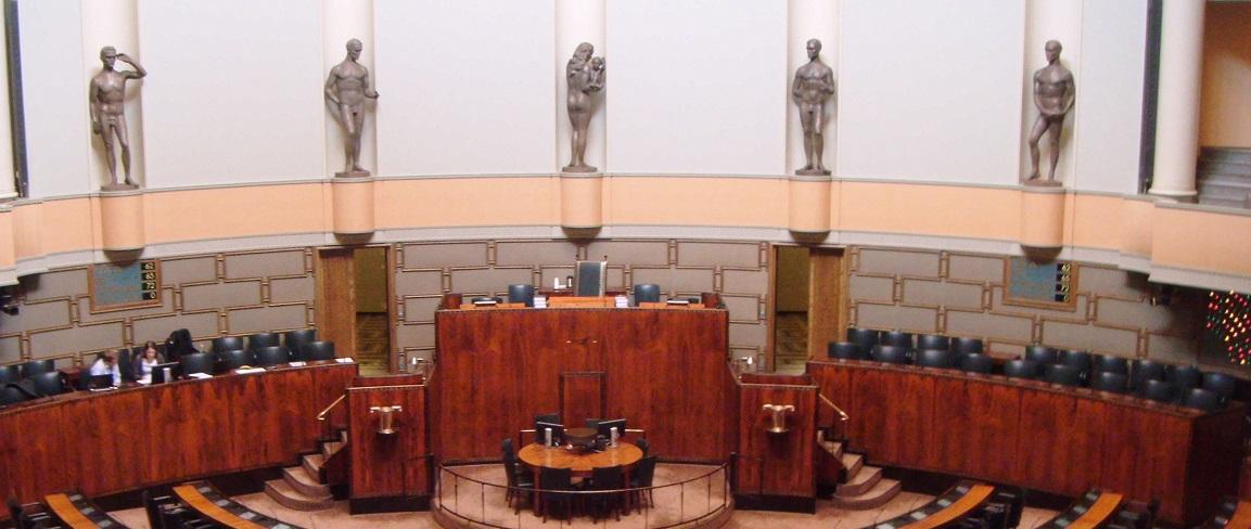 finnish parliament house