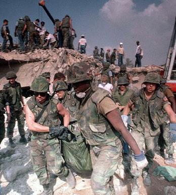 marine barracks explosion 30 years ago today 23.10.2013