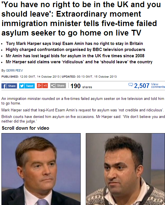 uk immigration minister tells 5 time asylum loser to go home 15.10.2013
