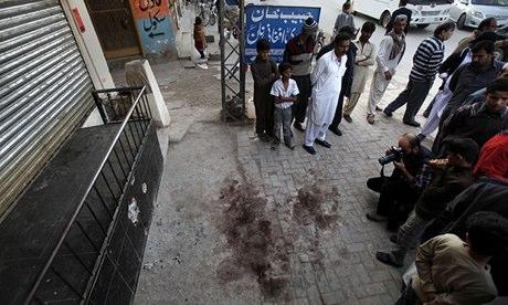 Nasiruddin Haqqani Local residents gather at spot where Nasiruddin Haqqani network killed Islamabad