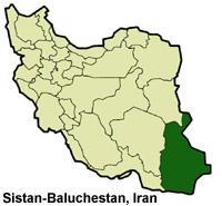 Sistan-Baluchestan-Iran-Map