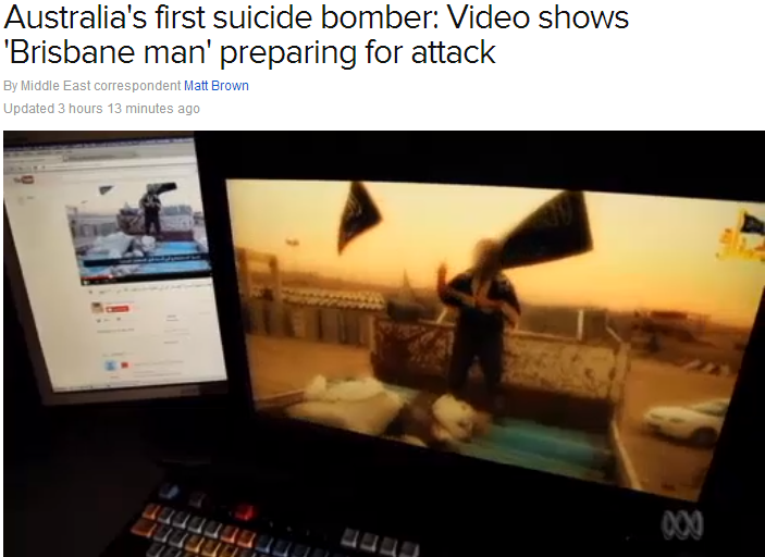 australias first suicide bomber 12.11.2013