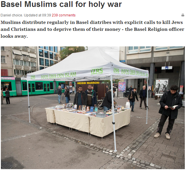 basil muslims call for murder of jews openly 13.11.2013