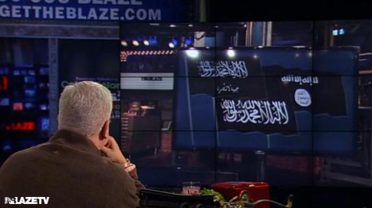 black flags of islam