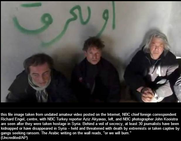 nbc journalists kidnapped 10.11.2013