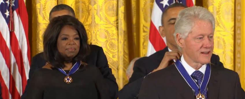 oprah honored by zero