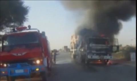 pakistan nato trucks attacked