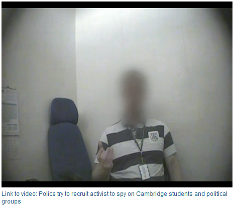 uk police spying
