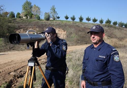 greek border police