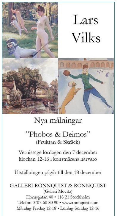 lars vilks art exhibition dec 2013