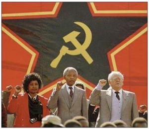 mandela the commie