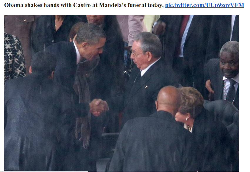 obama bows to castro 10.12.2013