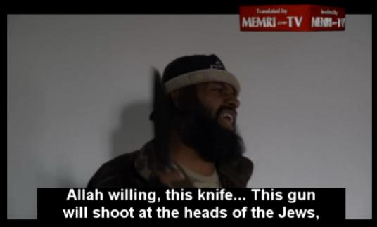 saqir al-jihad my gun is aimed at teh heads of the jews