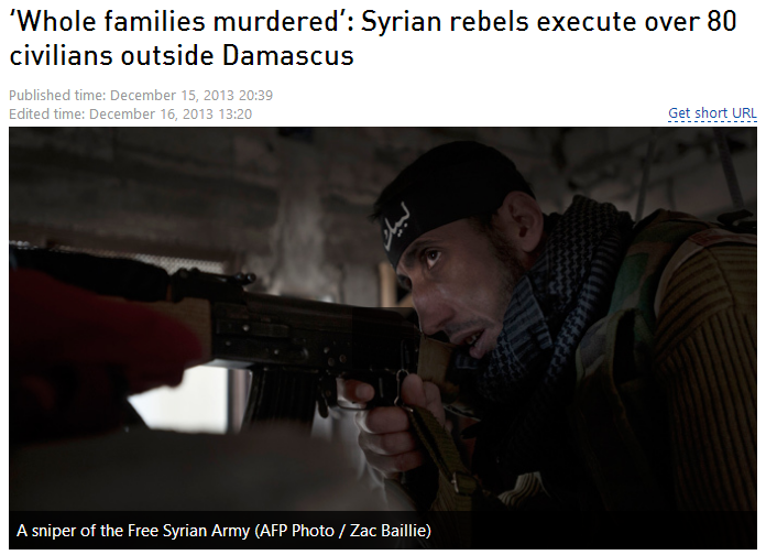 syrian rebels murder whole families 12.17.2013
