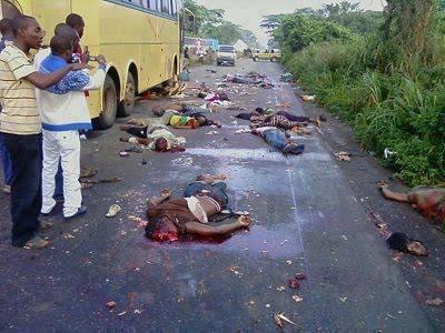 nigeria boko haram slaughtgered biafrans