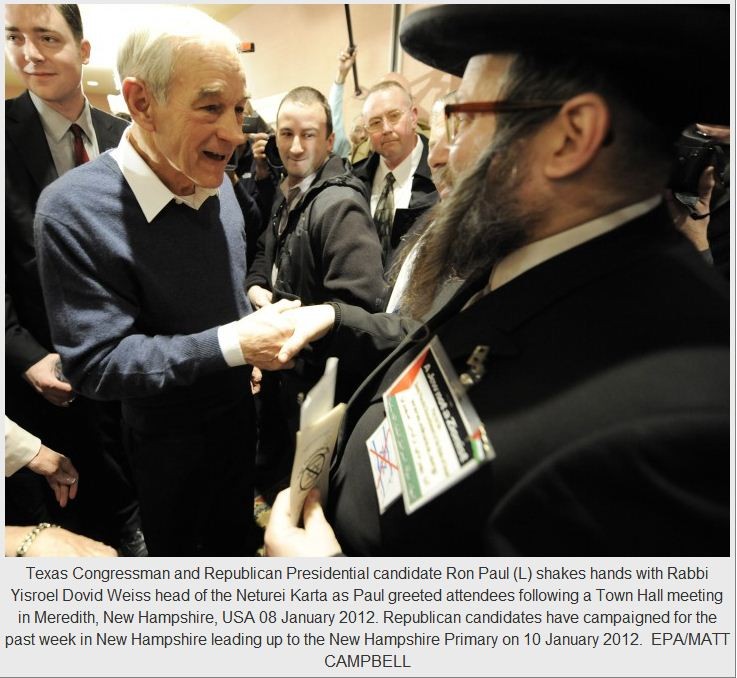 ron paul and neturei karta