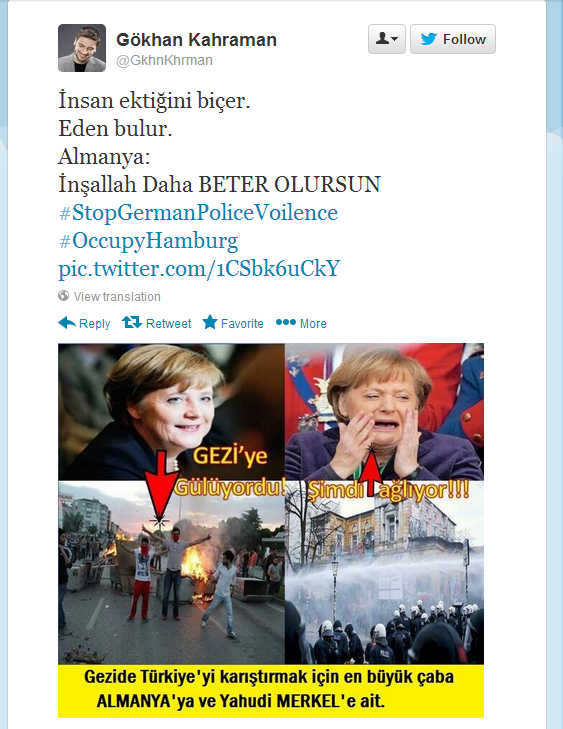 turks call merkel a jewess