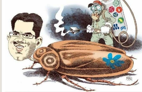 Sweden democrats likened to cockroaches 25.11.2012b