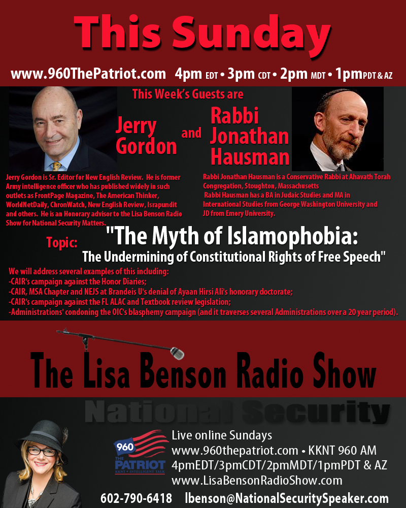 The Myth of Islamophobia   4-20-14