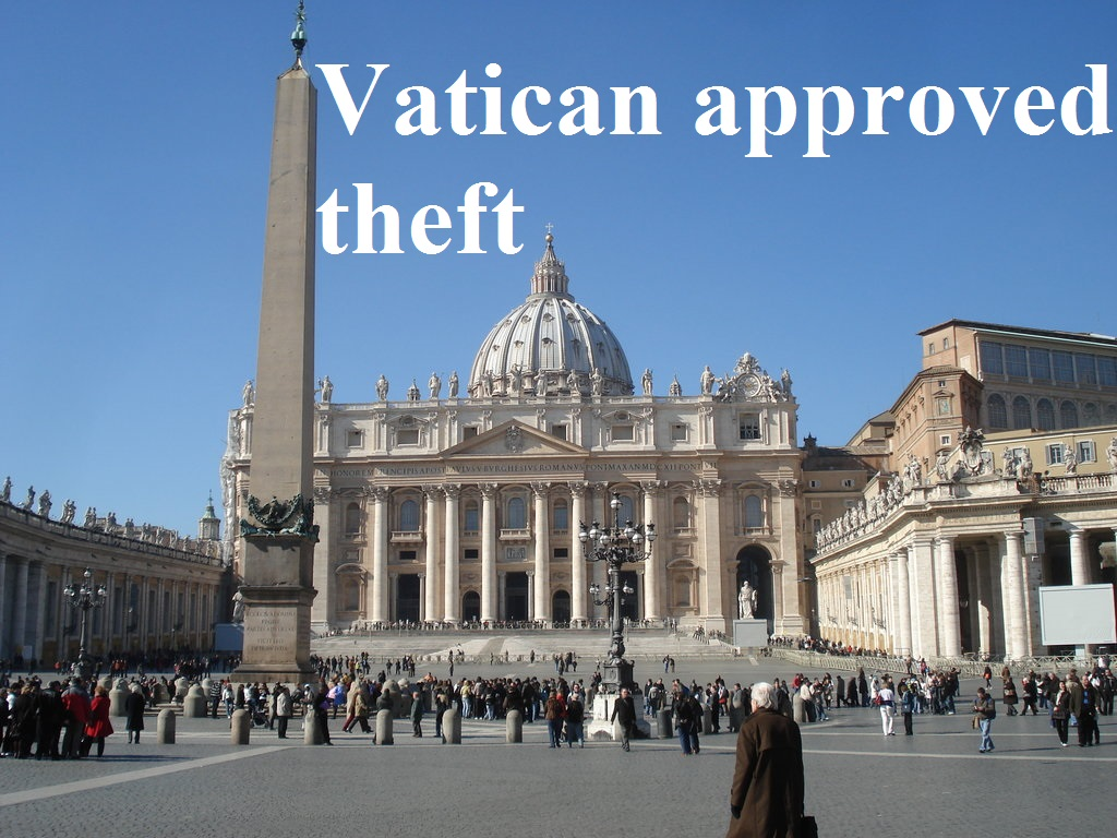 vatican theft