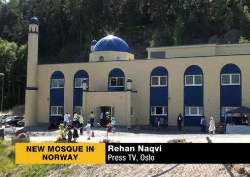 NEW SHIITE MOSQUE IN NORWAY 3.6.2014