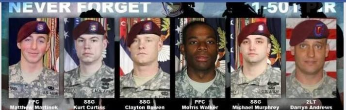 men who died looking for traitor bergdahl