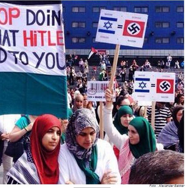 ISLAMONAZIS IN HAGUE 13.7.2014